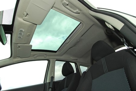 Moonroof of car